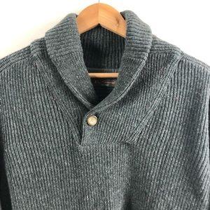 Ben Sherman Single Button Sweater